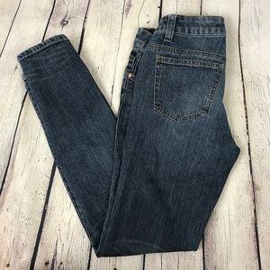 CAbi Medium Wash Skinny Blue Jeans Size 0